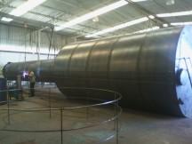 Reservatório modelo taça de 100 mil litros