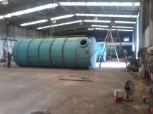 Reservatório de água metálico 80 mil litros